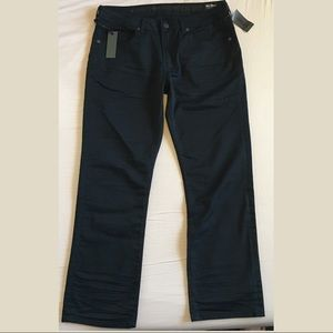 Buffalo David Bitton Black Straight Stretch Jeans